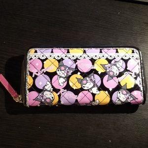 Kuromi Sanrio Zip Wallet